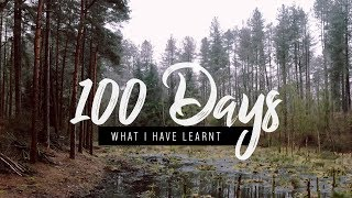Run Streak Day 100   Here's what I've learnt   Running Vlog 3