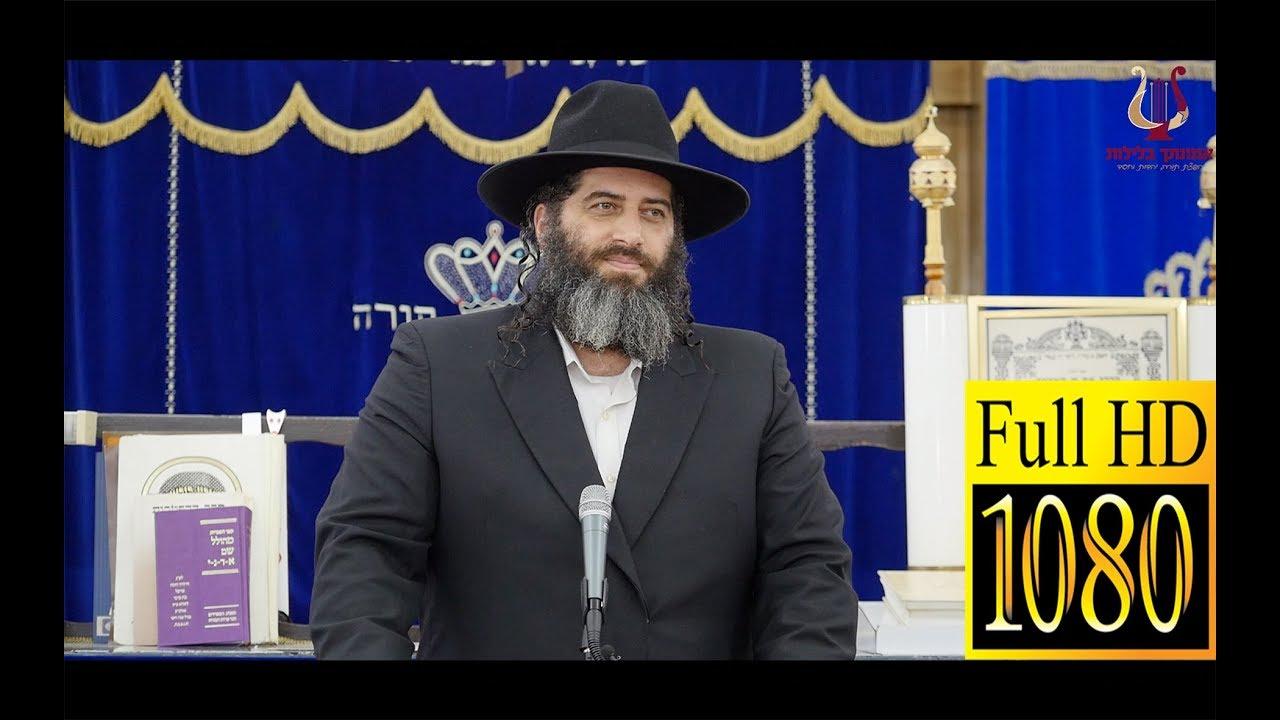 הרב רונן שאולוב בשיעור שכל אחד צריך לשמוע !! בת מלך - להיות בת ישראל קודש !! כרמיאל 28-10-2018