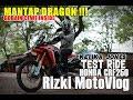 RizkiMotoVlog - PART#107- NAIK BELALANG TEMPUR/HONDA CRF 250 (TEST)
