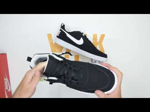sandales Nike pour les femmes - Nike Court Borough Low Red. - YouTube