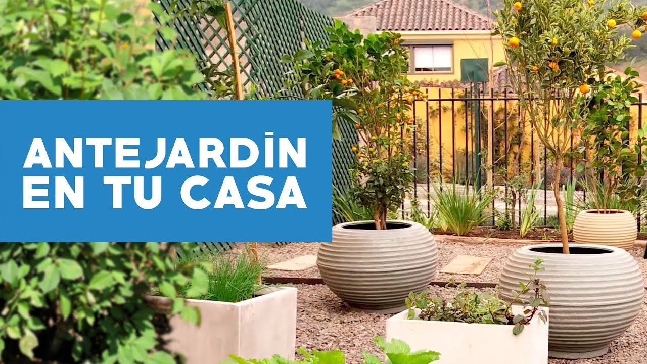 c mo hacer un antejard n desde cero youtube On ideas para decorar antejardin