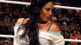 Raw: Melina returns to Raw and confronts Alicia Fox