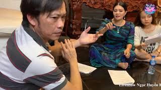 Ngọc Huyền, Hoài Linh bình dị dễ thương tập tuồng cho liveshow 23/12/2018 tại sân khấu Lan Anh