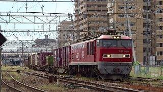 2019.09.14 貨物列車(2093列車)秋田駅発車