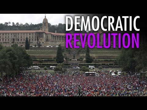 Democratic revolution in South Africa?