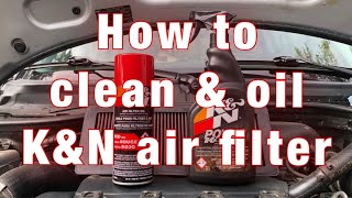 How To Clean & Oil A K&N Air Filter