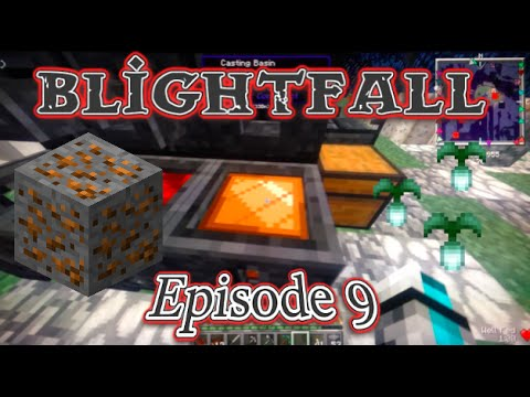 Minecraft Blightfall Lets Play Ep9 I Can Finally Mine Gold Youtube