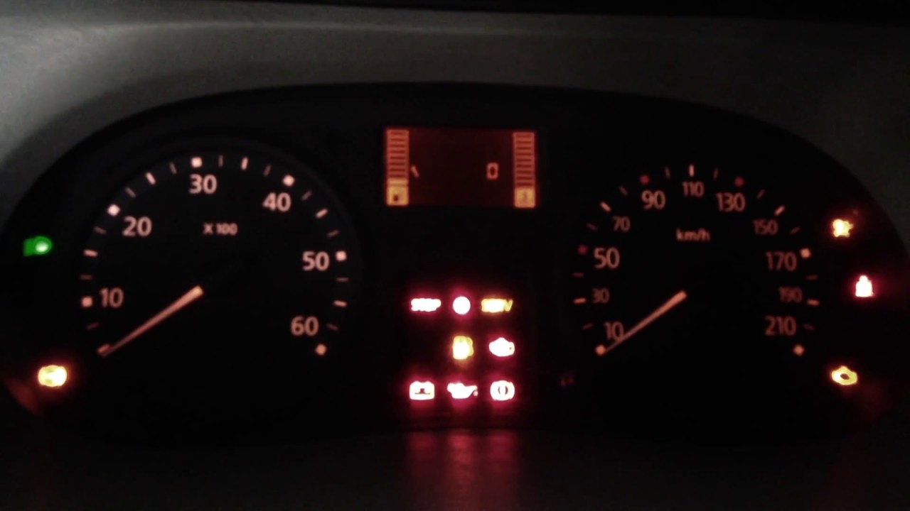 Opel Vivaro Reset Oil Service - YouTube