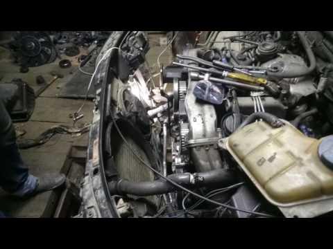 Audi A6 (c5) замена сальника колен вала. установка приводных ремней. метки