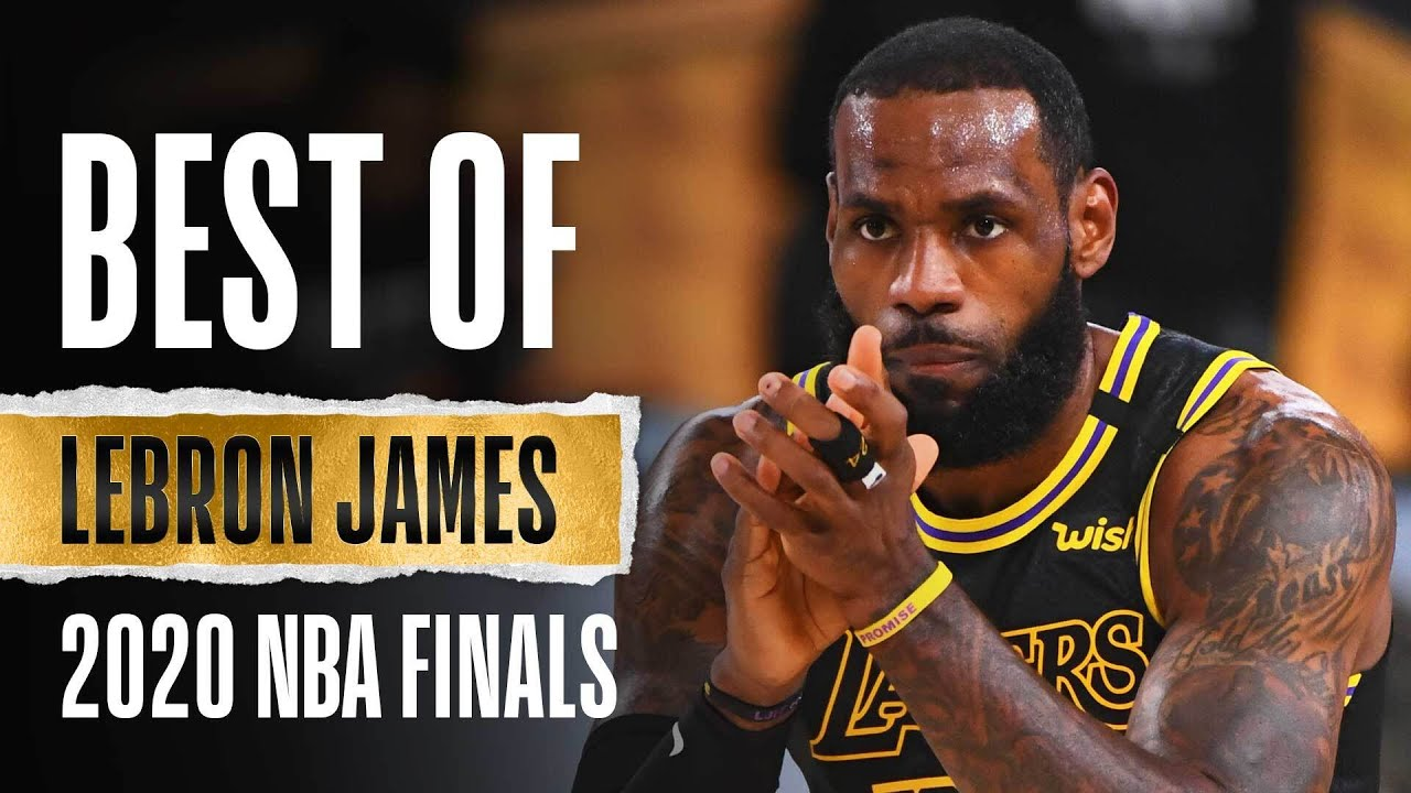 LeBron's Best Plays From The 2020 NBA Finals 🏆