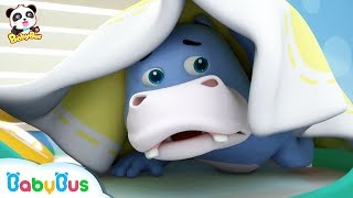 Baby Panda Helps Hank Prevent A Cold | Baby Panda's Daily Routine | Kids Good Habits | BabyBus