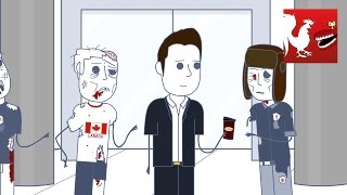 Canadian Zombie Property - Rooster Teeth Animated Adventures 4K