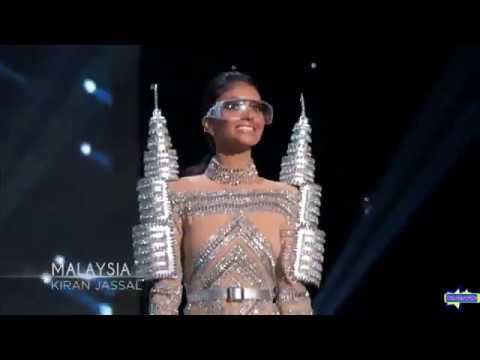 NATIONAL COSTUME of Miss Malaysia Kiran Jassal