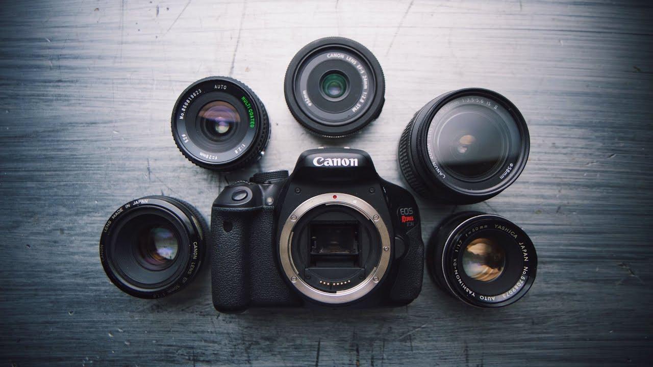 The BEST CHEAP Lenses for Canon DSLR FILMMAKING