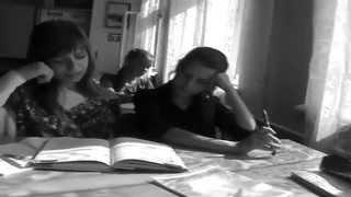 Сенсация! !Клип года! Реп на уроке русского языка!