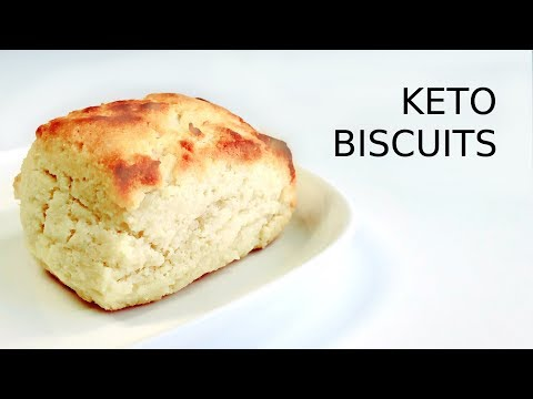 Keto Buttermilk Biscuits|Low Carb Staple|Nadia L