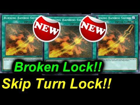 New Broken Bamboo - Skip Turn Lock!!