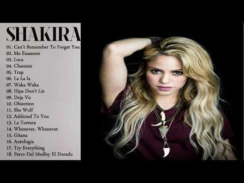 Shakira Greatest Hits Full Cover - Shakira Best Songs - Shakira Best Songs Collection
