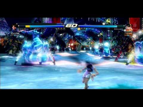 Tekken Tag2 Player Match AsTheMoon(Lars/Lei) VS With Love, Jess(Xiaoyu)