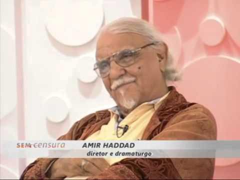 Leda Nagle entrevista Amir Haddad no Sem Censura parte 1 de 2