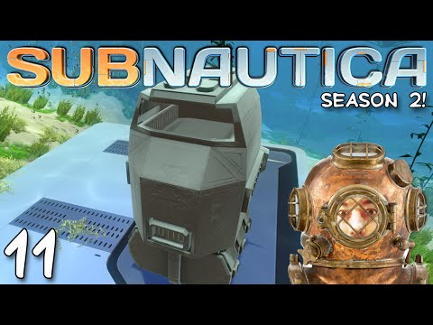 """Subnautica Gameplay S02E11 - """"THERMAL POWER PLANT!!!"""" 1080p PC"""