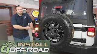 Jeep Wrangler JK Taillight Assembly OE-Style Smoked Pair 2007-2018 Installation