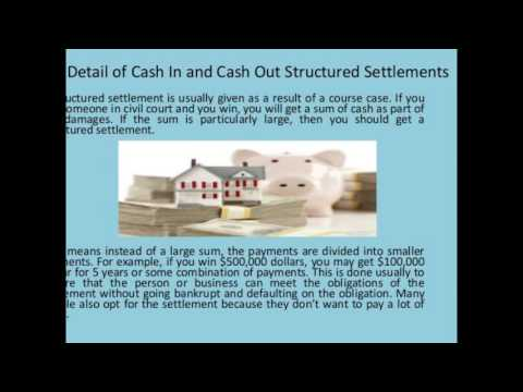 cash for structured settlement payment