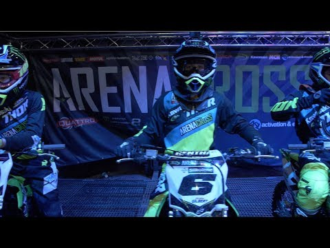 Arenacross Team Green Supermini Cup: Boston Gilbert rides in Belfast (Part 3)
