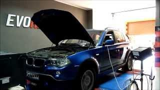 BMW X3 2.0d Chip Tuning by Evorider(BMW X3 2.0d Chip tuning on Maha dyno Pomiar mocy seryjnej 146 KM 314 Nm Evorider chip tuning 196 KM 400 Nm www.evorider.com., 2013-08-18T19:00:34.000Z)