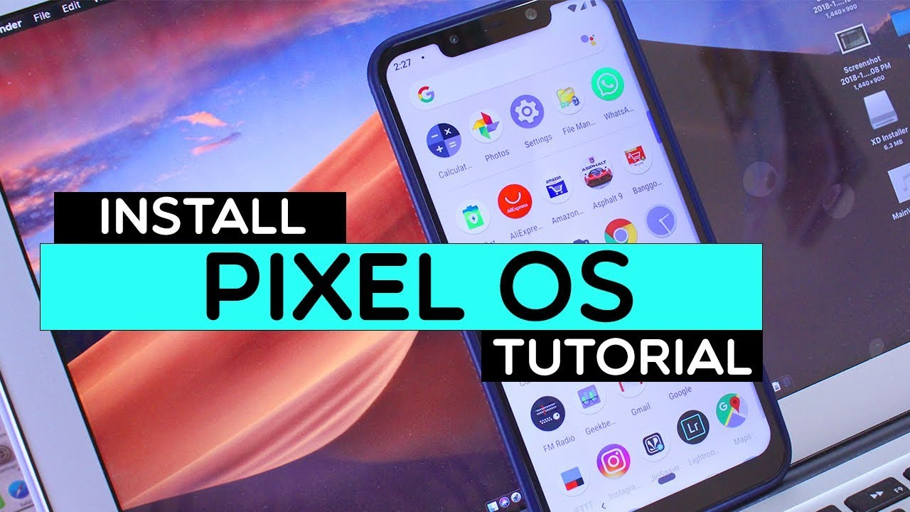 Poco F1 - INSTALL Pixel Experience Rom (Android 9 0 Pie) With Working GCAM