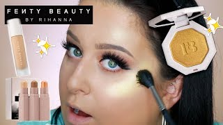 FENTY BEAUTY by RIHANNA REVIEW | First Impressions Review Swatches NEW Fenty Beauty