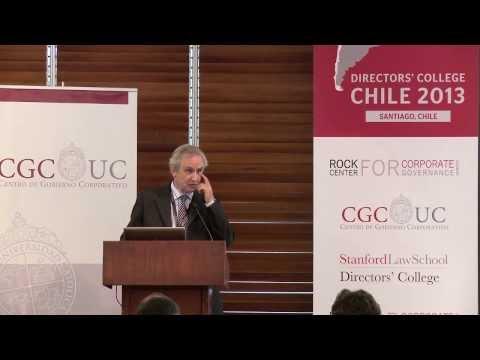 Directors' College Chile 2013 - Presentación Rafael Fernandez