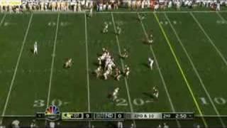 Tashard Choice touchdown Georgia Tech Notre Dame 1 of 2