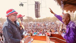 Tundu lissu,Maalim Seif Ashtukiza Mkutano Moshi Watu wamzibia Barabara Awasha Moto Avunja Rekodi leo