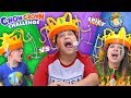Chow Crown Challenge! W/ Hot Sauce Edition  Funnel Family Challenge Vision