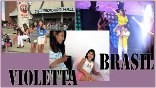 Especial Violetta + Susto que a Mariany levou ao saber que ia no Show