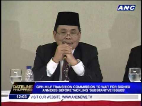 Transition Commission eyes law to unite Bangsamoro