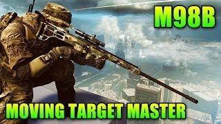 Sniper Sunday: M98B Best Rifle For Moving Targets (Battlefield 4 Gameplay/Commentary)