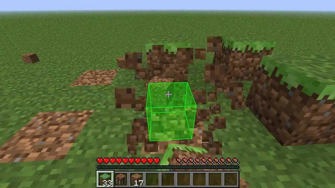 Mod Review  Block Break Animation  Minecraft 147 HDGerman