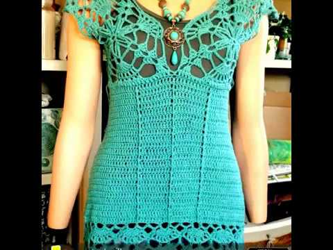 Sommer Top Häkeln Crochet Summer Top Tunika Youtube