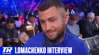 Vasiliy Lomachenko Calls for Teofimo Lopez Fight in April, Gervonta Davis Fight in 2020