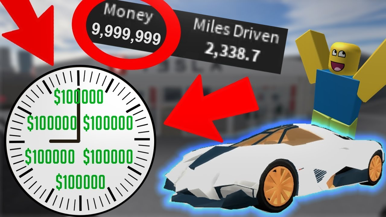 Make 100 000 Every 10 Minutes Roblox Vehicle Simulator How