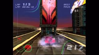 Rollcage Stage II (PS1) Gameplay