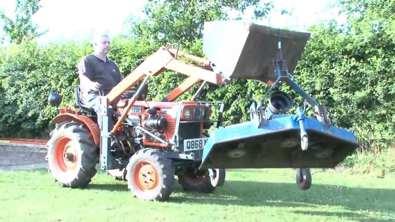 Kubota B7100 Loader : Kubota b tractor loader backhoe doovi