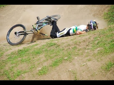 Image result for mountain bike crash into tree branch