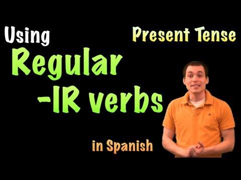 01054-spanish-lesson---present-tense:-regular--ir-verbs