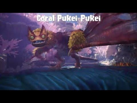 MHW Iceborne Coral Pukei-Pukei SOLO