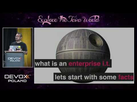 Devoxx Poland 2016 - Yves Hwang - ENTERPRISE I.T. IS DEAD, LONG LIVE ENTERPRISE I.T.!