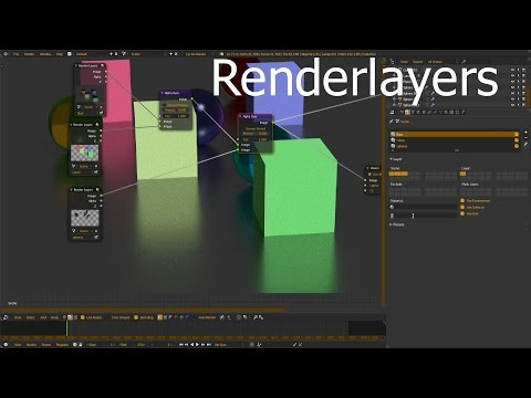 Blender 2.72: Renderlayers [Tutorial/English/HD]