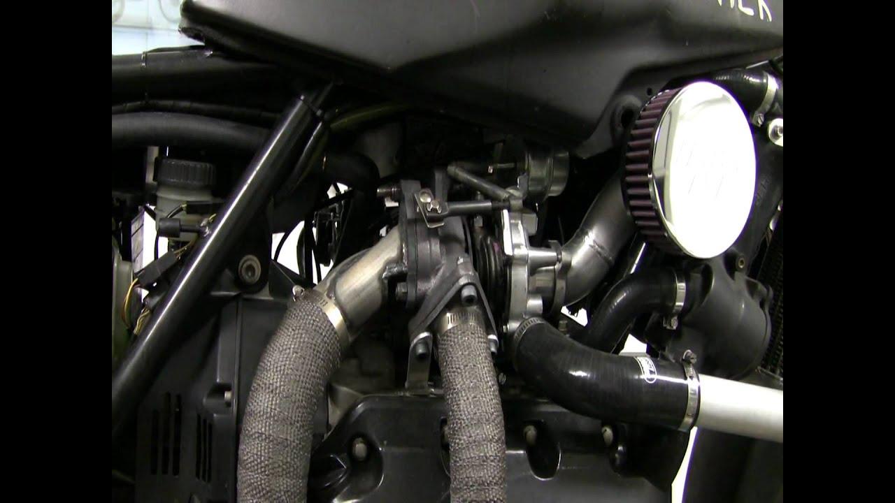 Bmw K75 Turbo Intercooled Megasquirt On Dyno Youtube